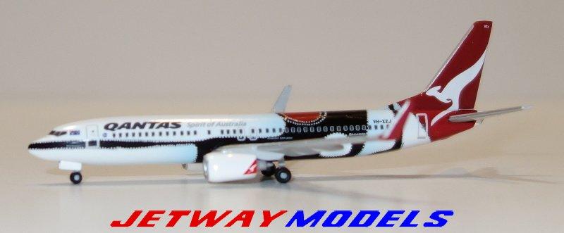 1//500 Herpa qantas boeing 737-800 mendoowoorrji 526418