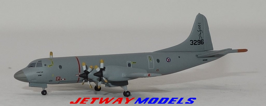 1:500 Herpa Norwegian Air Force Lockheed L-188 Electra 6603