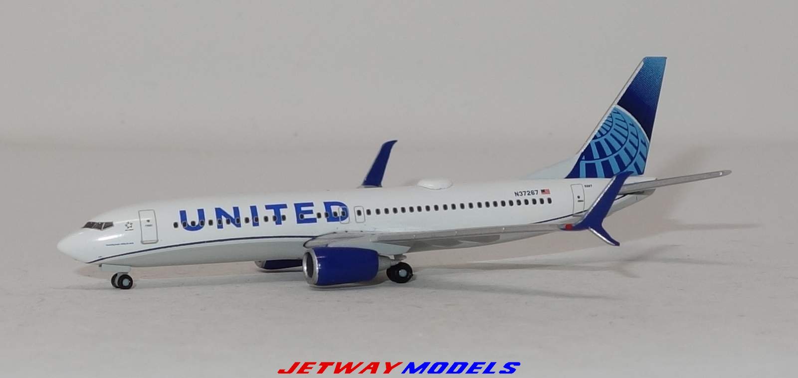 Herpa Wings b737-800 United Airlines-New 2019 Colors 533744-1:500